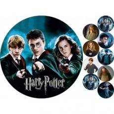 Вафельная картинка A4 Гарри Поттер