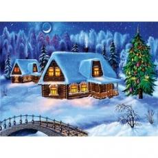Вафельная картинка A4 Новый год, Рождество 4