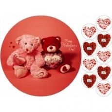 Вафельная картинка A4 День Св. Валентина 4