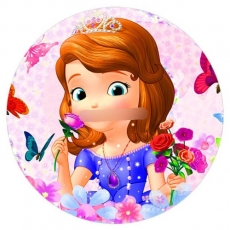 Сахарная картинка A4 Принцесса София 3