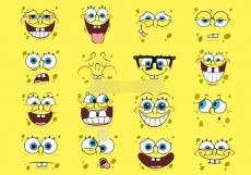 Сахарная картинка A4 SpongeBob 4