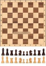 Сахарная картинка A4 Шахматы