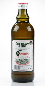 Оливковое масло Olio di Sansa di Oliva Morettini