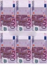 Сахарная картинка A4 Евро