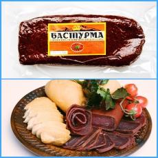 Бастурма из говядины высшего сорта (батон)