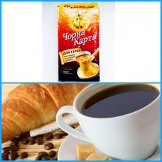 """Кофе для турки мелкого помола """"Чорна Карта"""""""