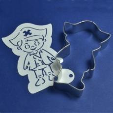 Набор каттер и трафарет Пират в шляпе 11x7 см