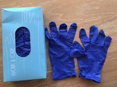 Резиновые перчатки неприпудренные 5 пар