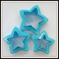 Набор выемок Decorative Звезда 2в1 3 шт 6 размеров