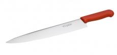 Нож профессиональный с красной ручкой Cake&Pie EM-3075 380 мм