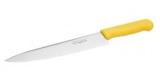 Нож профессиональный с желтой ручкой Cake&Pie EM-3083 430 мм
