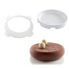 Силиконовая форма Cake&Pie Эклипс 18х4,5 см